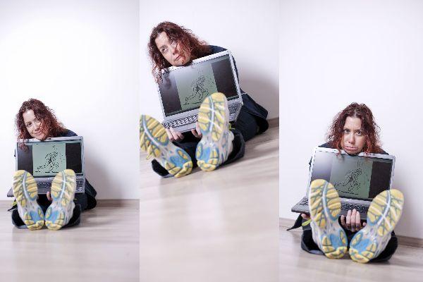 Das Thema? Laufen, Bloggen und K.O.-Sein! Fotos: (c) Bubu Dujmic